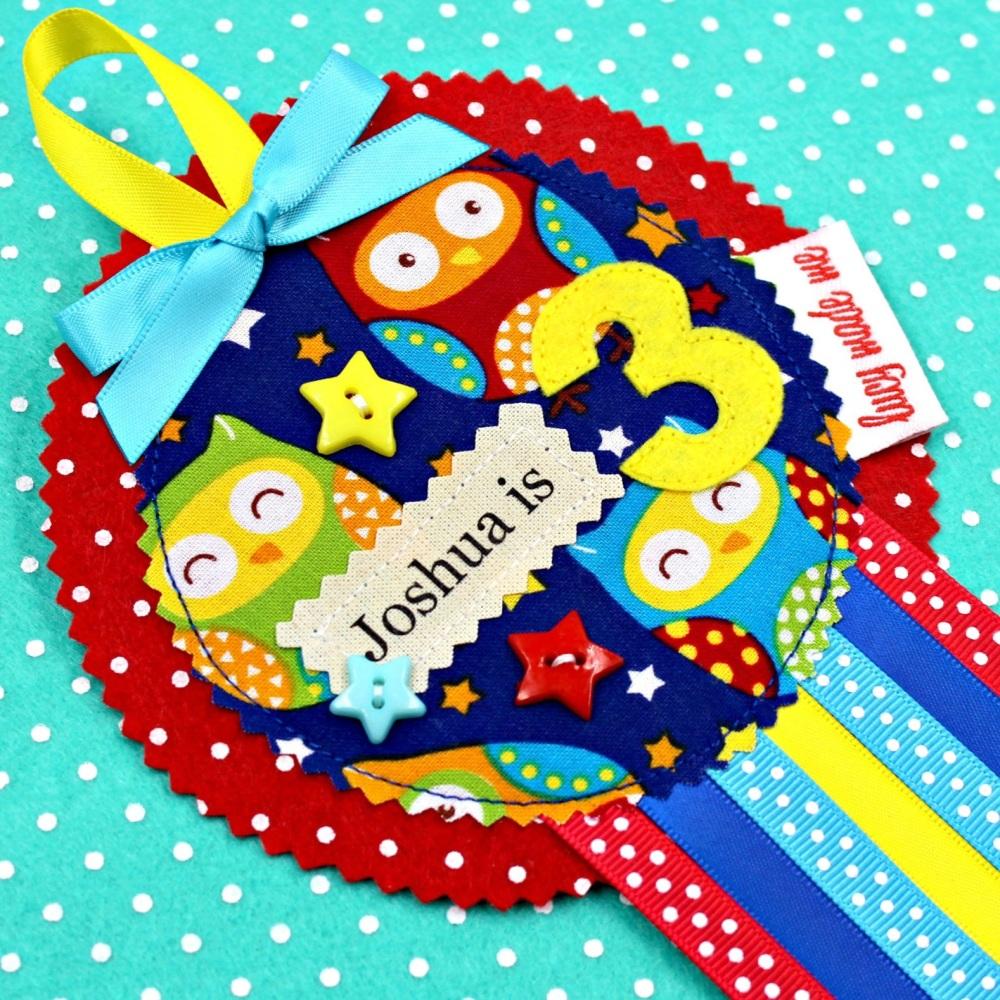 Owl  Animals Badge £8.00-£12.00