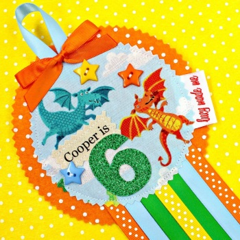 Dragon Animals Badge £8.00-£12.00