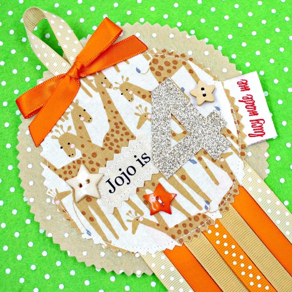 Giraffe Animals Badge £8.00-£12.00