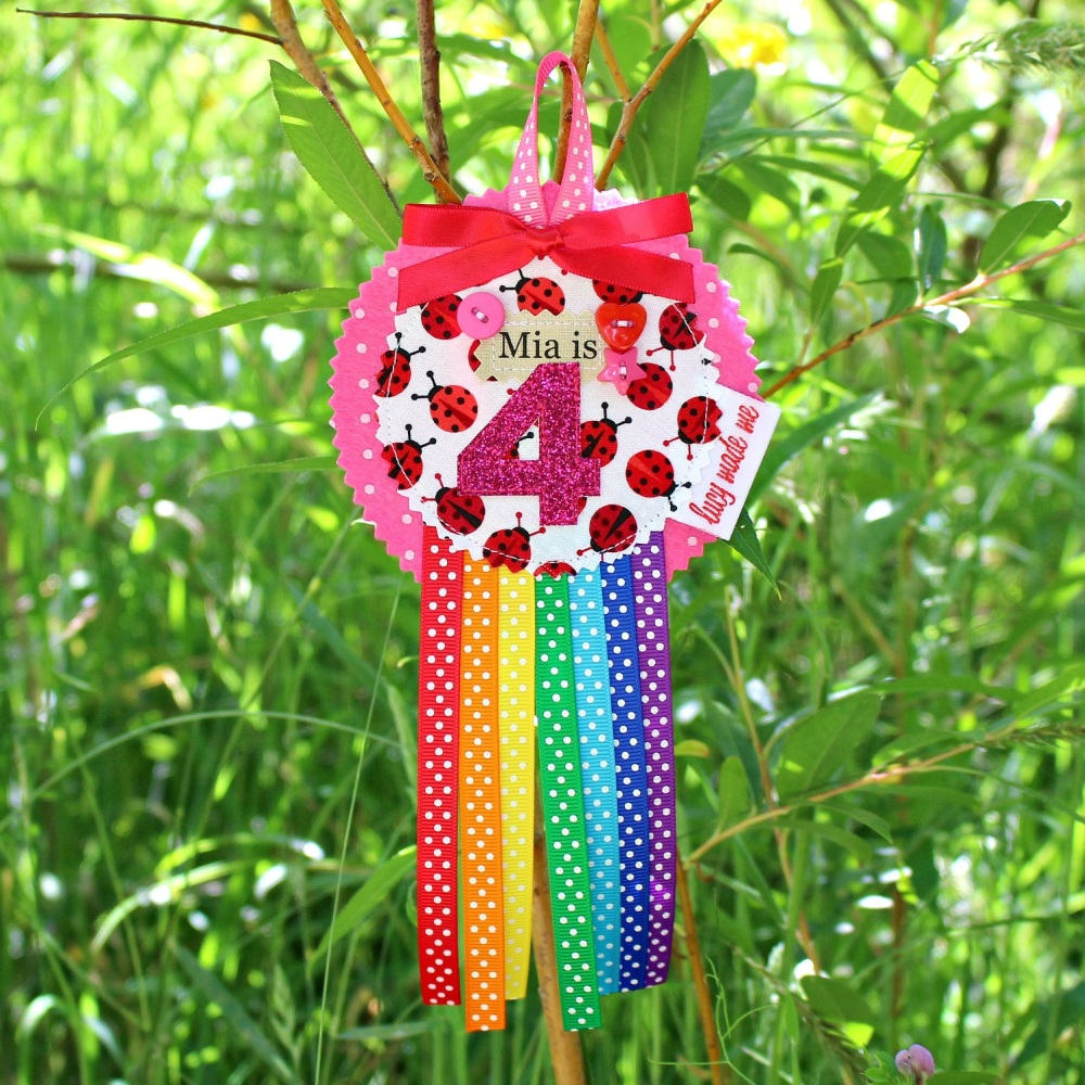 Ladybird Animals Badge £8.00-£12.00