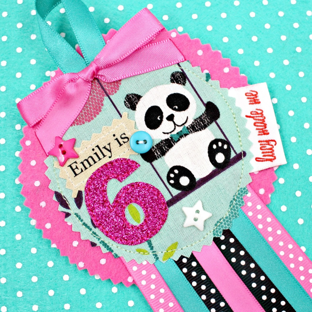 Cute Panda Bear Animals Badge £8.00-£12.00