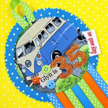 Campervan Badge £10.00-£12.00