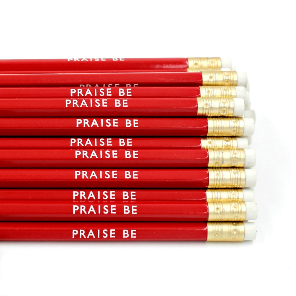 Handmaid's Tale Inspired Pencil Praise Be