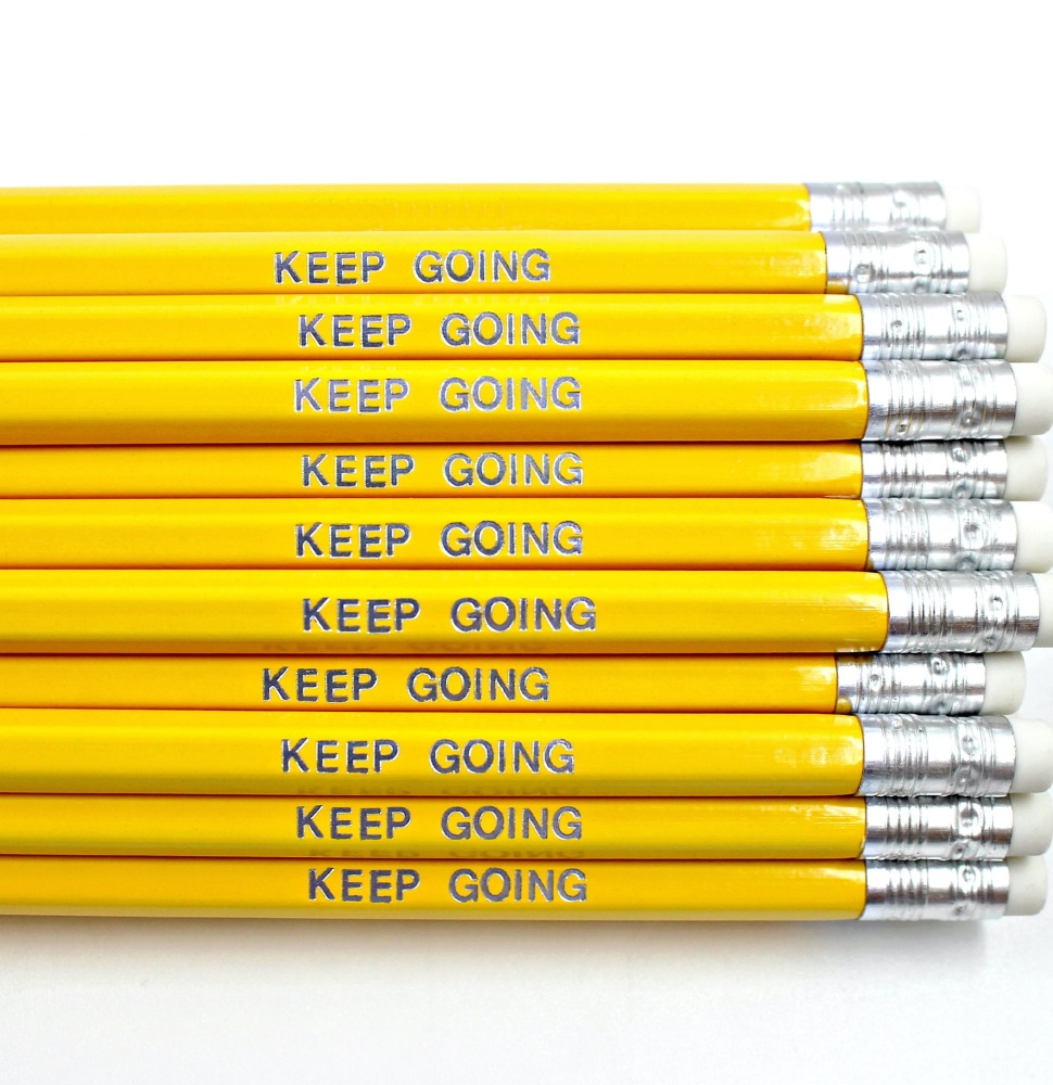 Keep Going Pencil