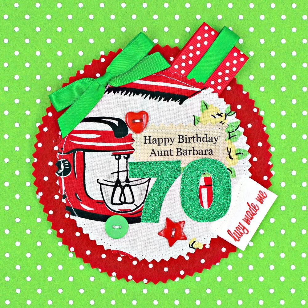 Retro Kitchen Bake Badge