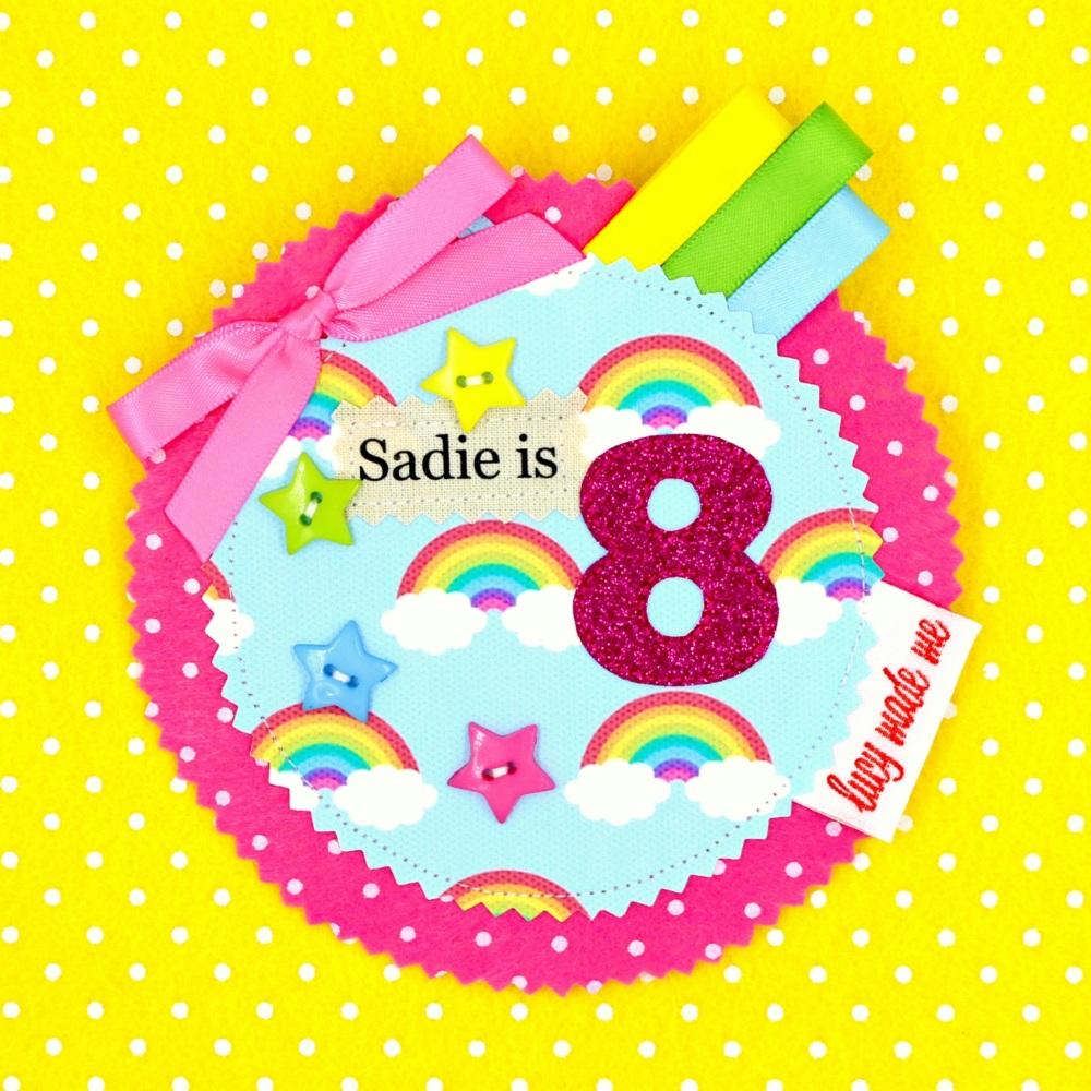 Rainbow Skies Badge