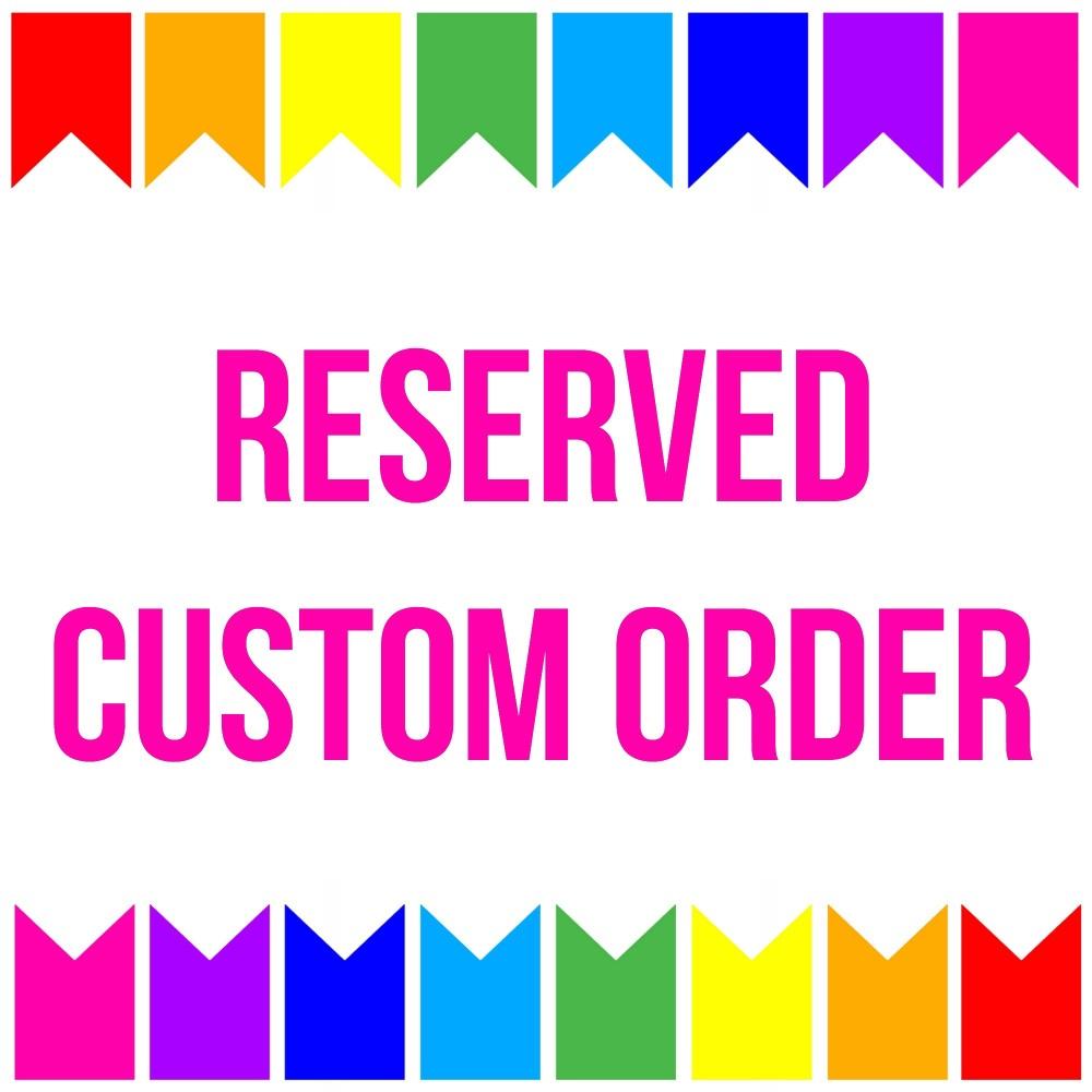 X Reserved Custom Listing Gemma TG