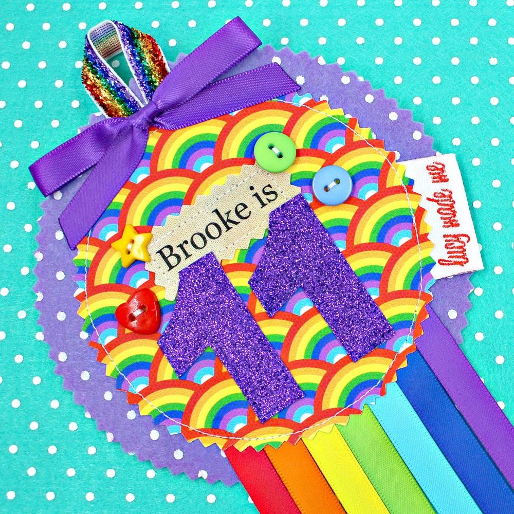 Rainbow Badges