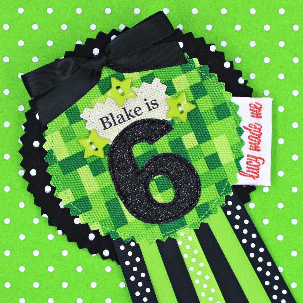 Green Gamer Badge