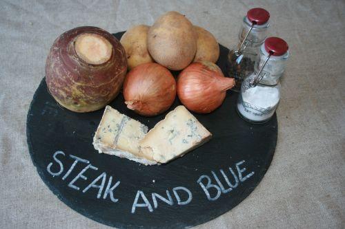Steak and Cornish Blue pasty
