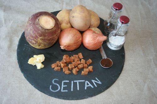 Vegan Seitan  Pasty