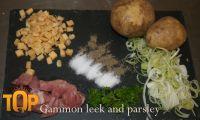 Gammon and Leek Pasty