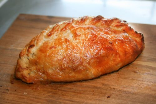 Pork, Scrumpy Cider and Apple Sauce Pasty