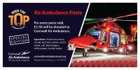 Air Ambulance Cornish Pasty