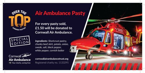 Air Ambulance Cornish Pasty