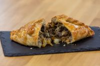 Steak and Cornish Blue pasty