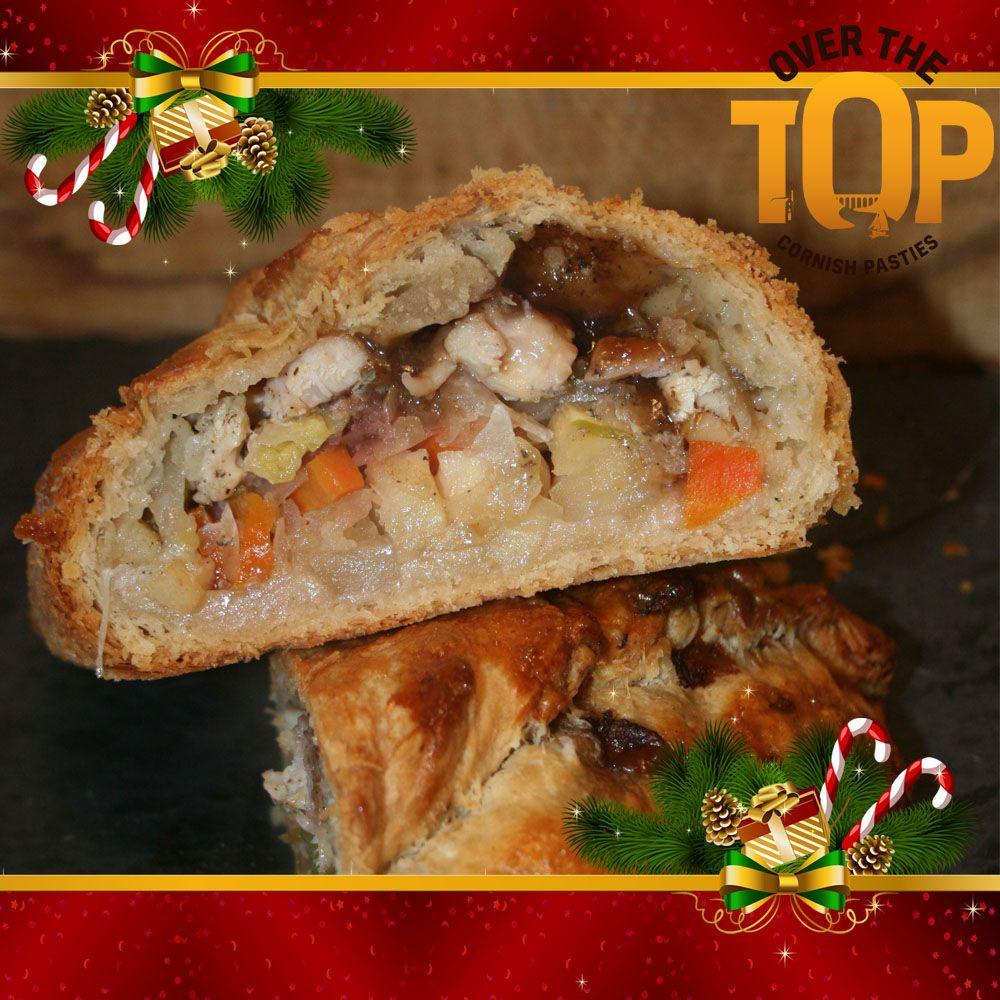 Christmas Pasties and sausage rolls