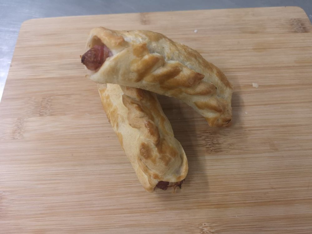 Pig in blanket sausage roll