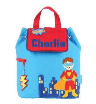 Children's Quilted Superhero Backpack