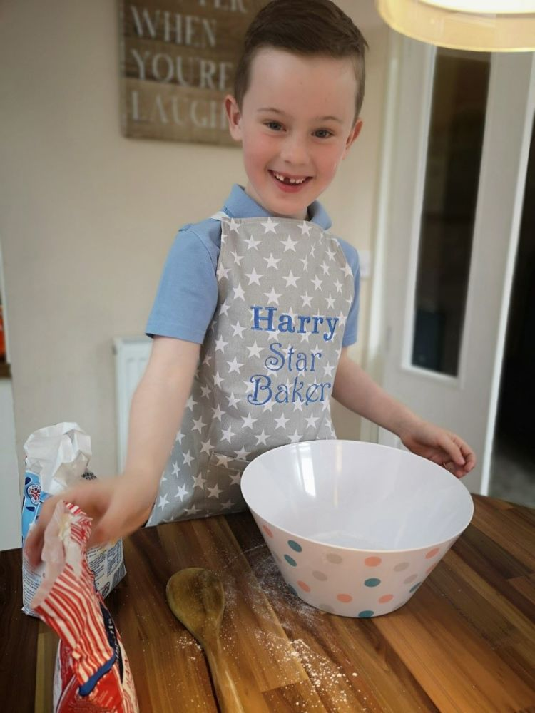 'Little Baker' Star Apron