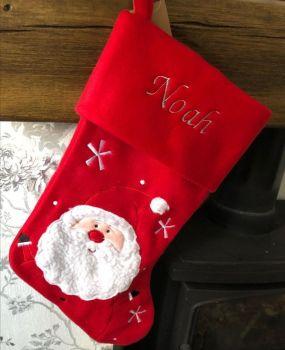 Red Santa Stocking