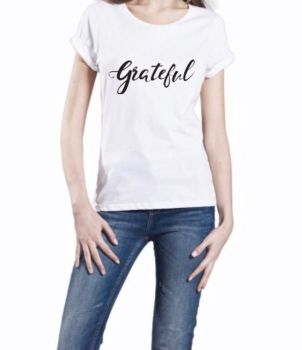 Grateful Roll Sleeve Tee