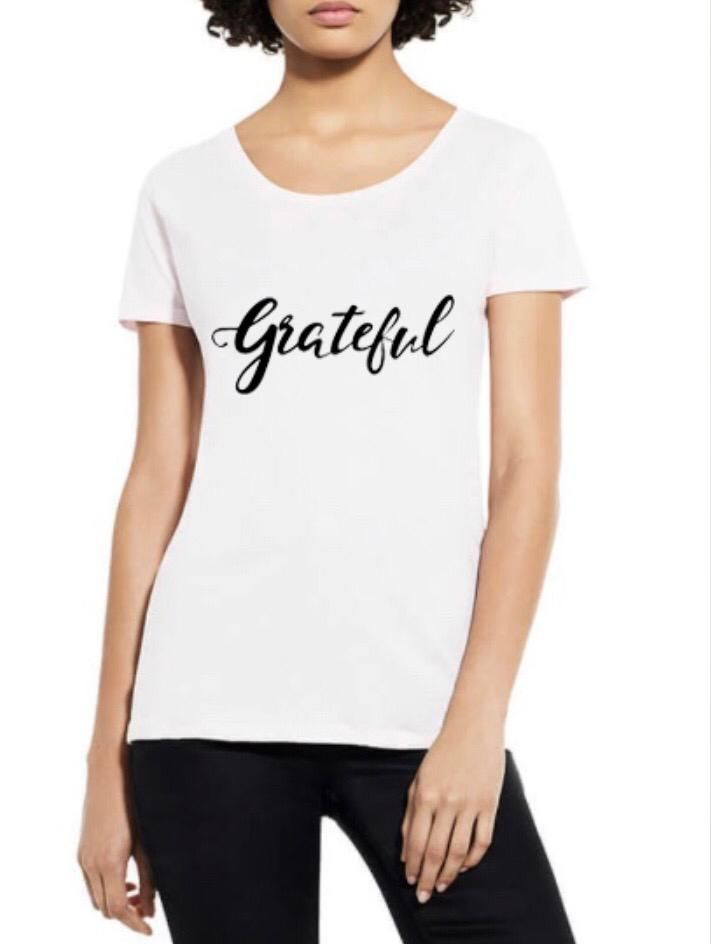Grateful Organic Scoop Neck Tee