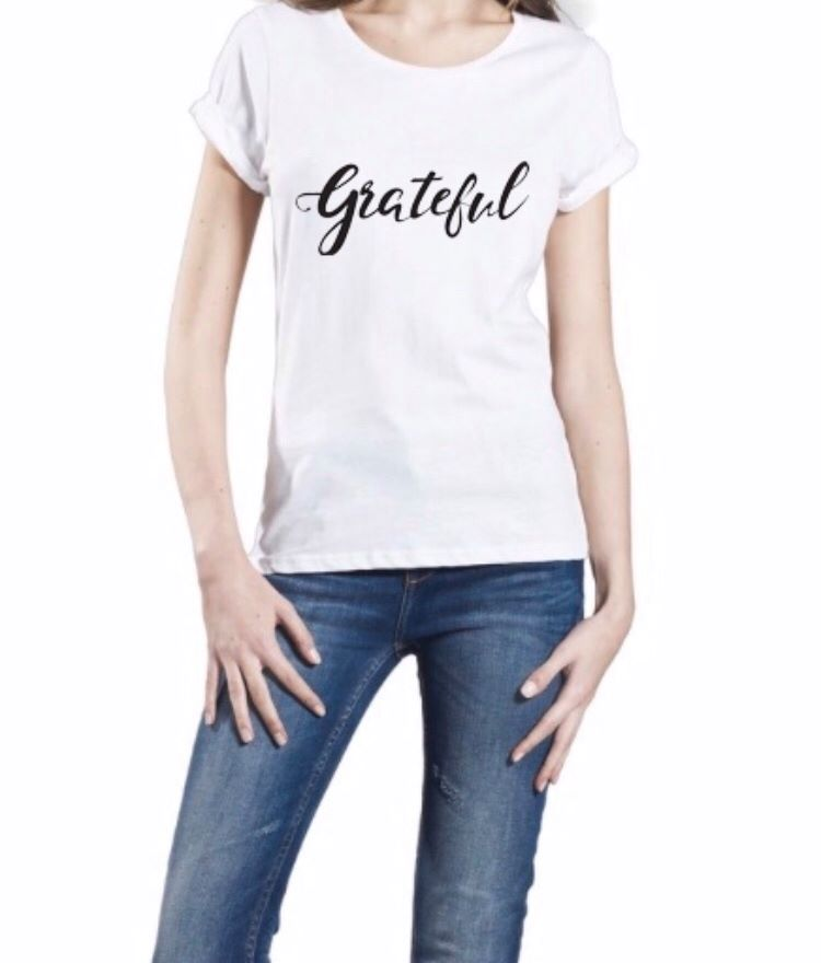 Grateful Organic Roll Sleeve Tee