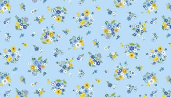 BLOOM - BOUQUET - BLUE 2033-B