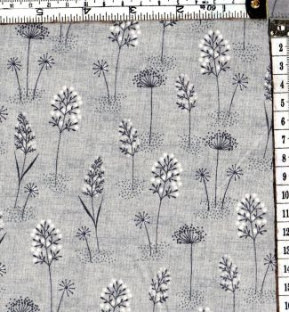 WOODLAND GRASSES GREY 2060/S