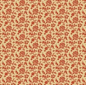 ROSE OUTLINED FLOWERS TAN
