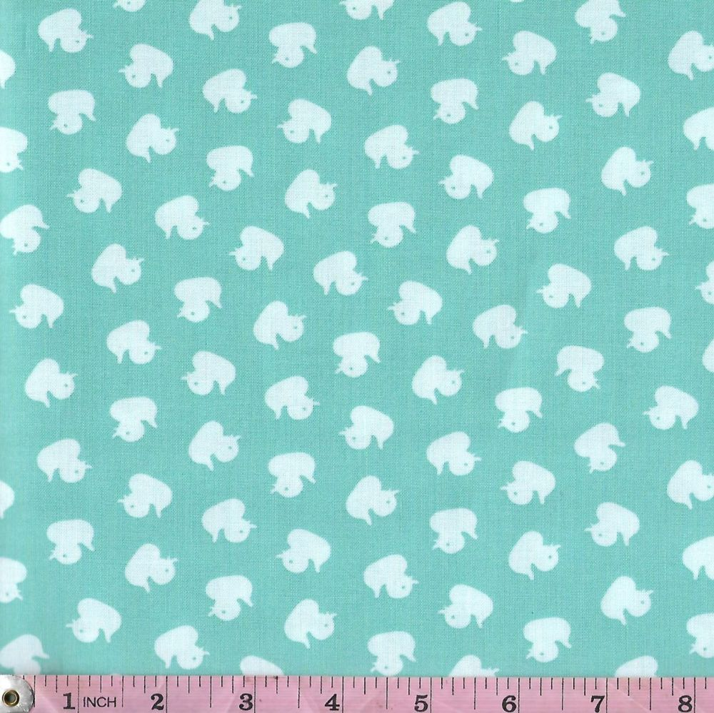 DUCKY TALES  WHITE DUCKS - STUDIO E FABRICS