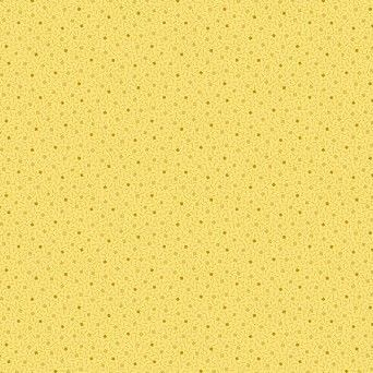 MAKOWER TRINKETS DOTTED SQUARE YELLOW 2/9015Y