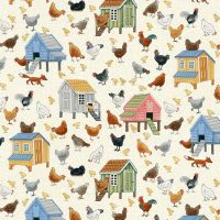 VILLAGE LIFE CHICKENS 2294/1