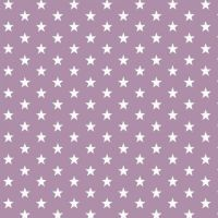 White stars on lilac Extra wide 57""