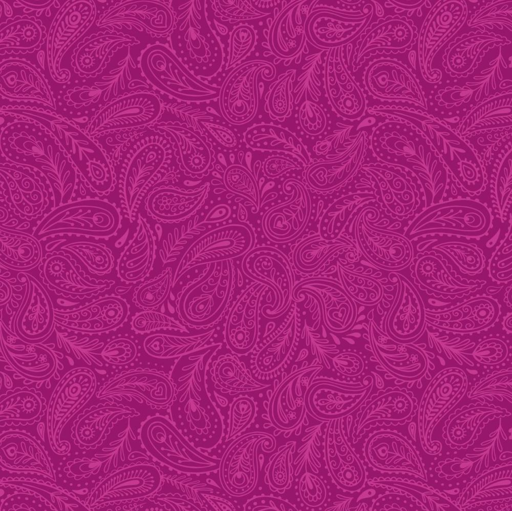 A490.2 Pink paisley