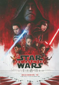 Star Wars The Last Jedi Poster Signed by 8 Praetorian Guards Pre-Order (02)