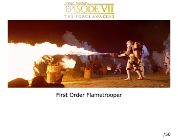 Flame Trooper autographed picture Star Wars The Force Awakens