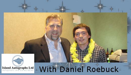 Pete with Daniel Roebuck (2010)