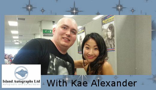 Pete with Kae Alexander (2016)