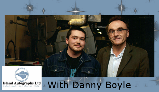 Pete with Danny Boyle (2011)