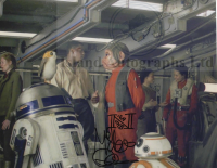Mike Quinn as Nien Nunb Star Wars The Last Jedi Autographed print pre-order 10x8 (02)