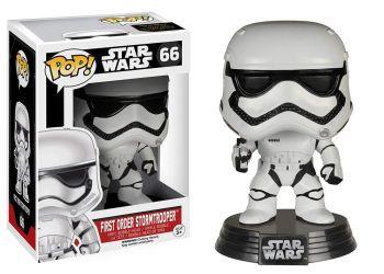 Andy Wareham Autographed Star Wars First Order Stormtrooper Pop Vinyl (01)