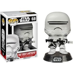 David R.Grant Autographed Star Wars First Order Flametrooper Pop Vinyl (01)