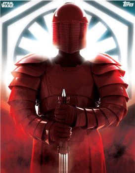 Star Wars The Last Jedi 10x8 Print Signed by 8 Praetorian Guards Pre-Order (A)