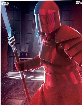 Star Wars The Last Jedi 10x8 Print Signed by 8 Praetorian Guards Pre-Order (B)