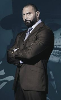 Dave Bautista autographed Mr Hinx in Spectre 10x8 (03)