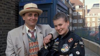 Sylvester McCoy and Sophie Aldred in Doctor Who pre-order (01)