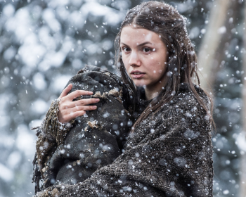 Hannah Murray as Gilly in Game of Thrones 10x08(01)