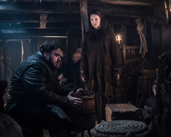 Hannah Murray as Gilly in Game of Thrones 10x08(03)